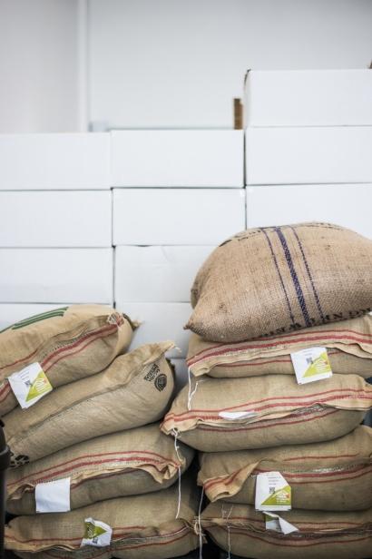 Coffee in bulk at Kookaburra Coffee