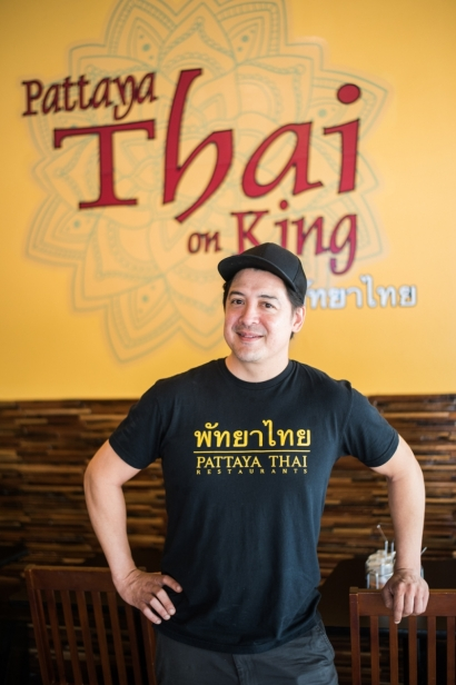 Chef Russell Clayton of Pattaya Thai Grille