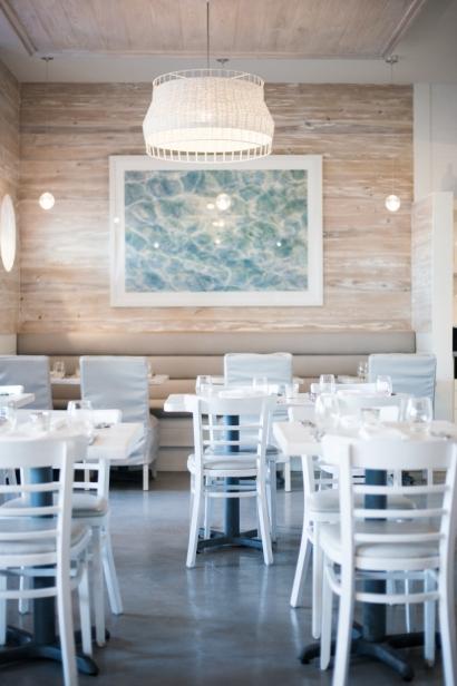The Dining Room at Restaurant Doro in Neptune Beach