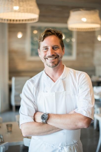 Chef Chris Polidoro at Restaurant Doro