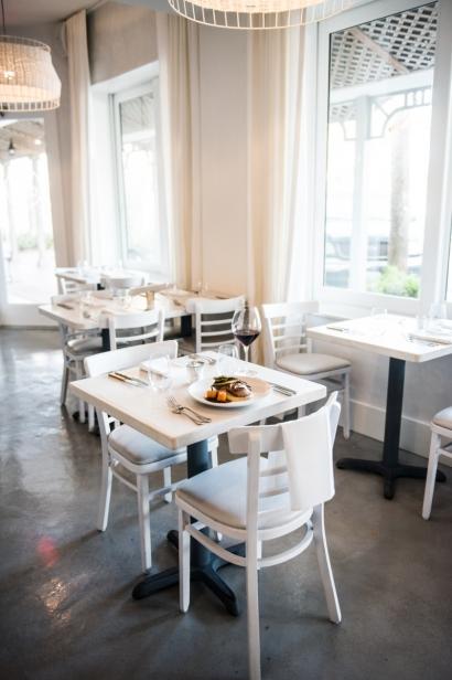 The dining room at Restaurant Doro