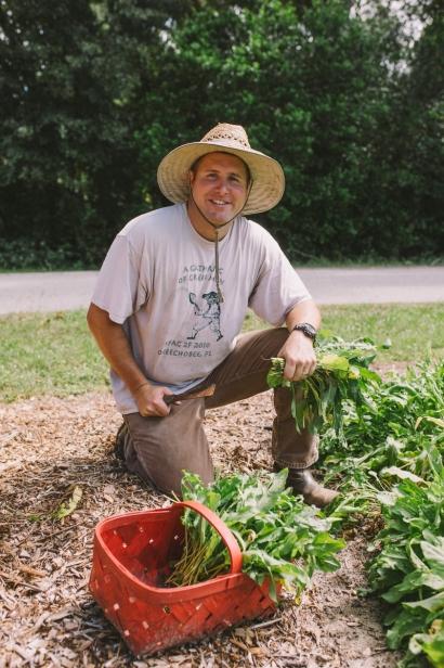 Ryan Lee of Lee's Edible Acres