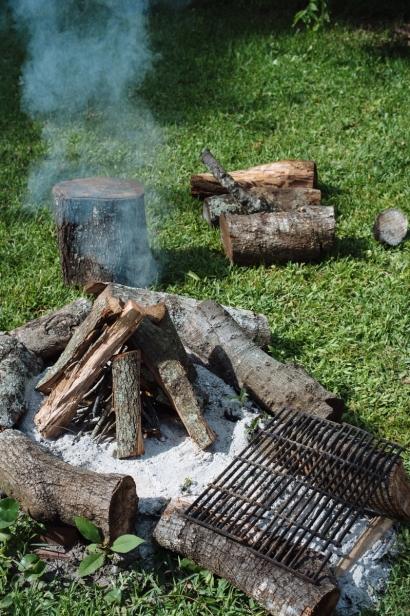 campfire smoking