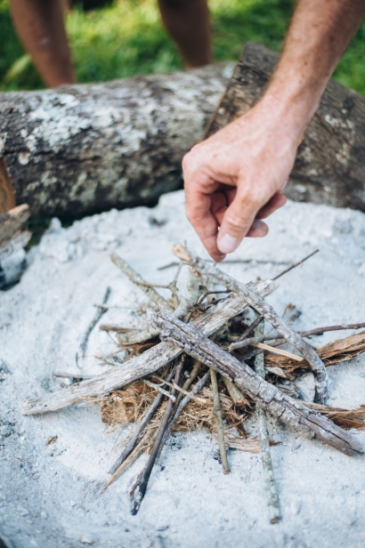 twigs and kindling