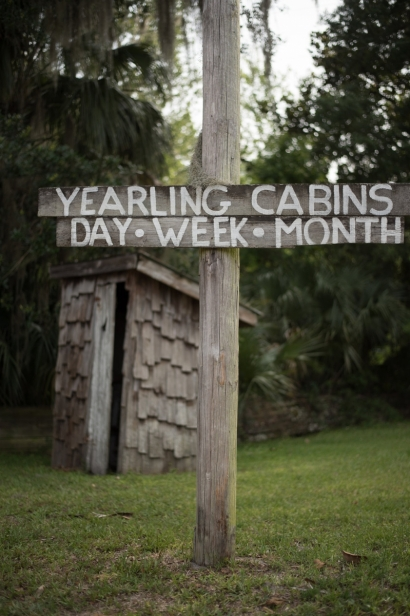 sign outside the yearling