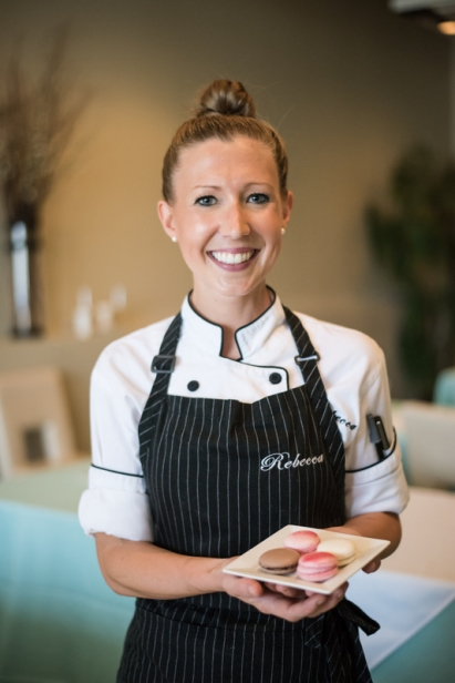 Chef Rebecca Reed, Matthew Restaurant's Pastry Chef