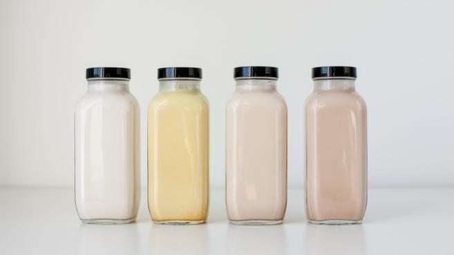 homemade nut milks