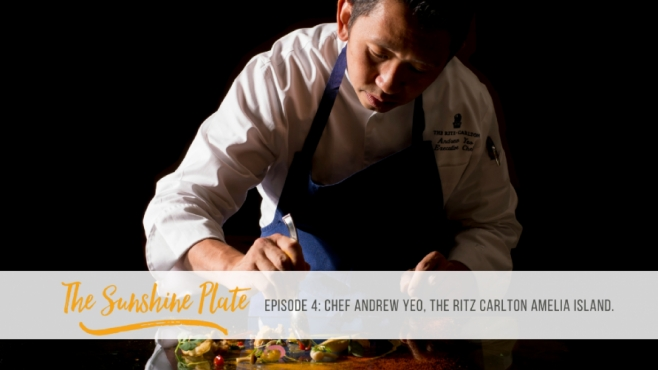 Chef Andrew Yeo of the Ritz Carlton Amelia Island