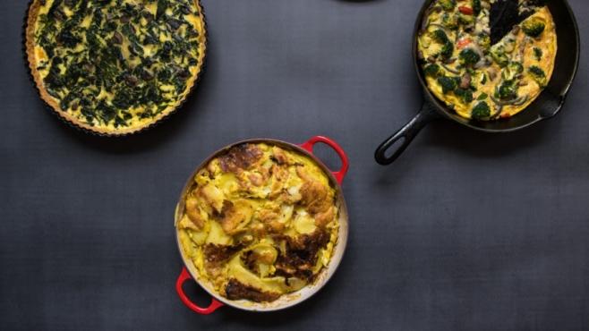 Frittata, Quiche, Spanish Tortilla, Egg Pies