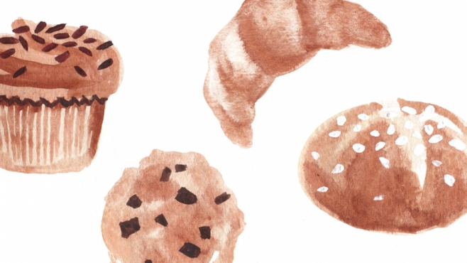 Baked Good illustration