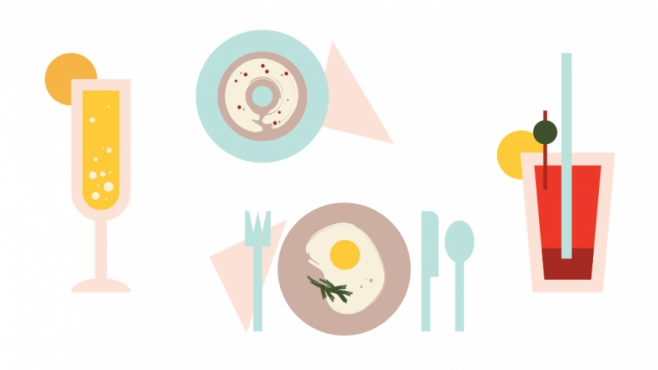 Illustrated Brunch Graphics