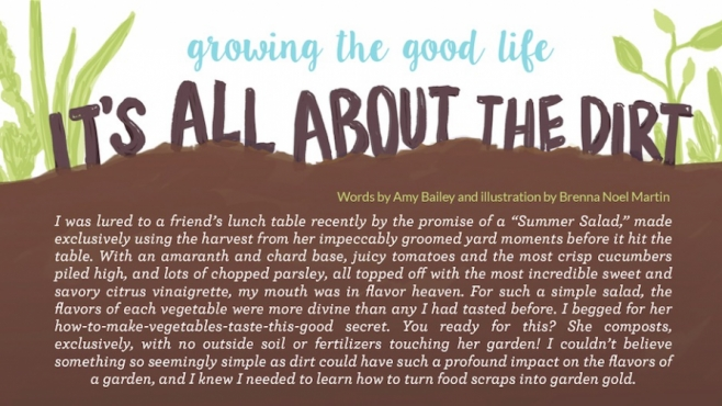 Composting 101 it's all about the dirt edible northeast florida grow something green