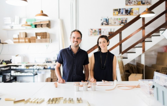 Andrew Deming and Rachel Gant of Yield Design