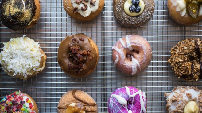 Swillerbees Craft Donuts in Flagler Beach