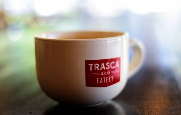 Trasca and Co. Eatery coffee mug in Ponte Vedra Florida