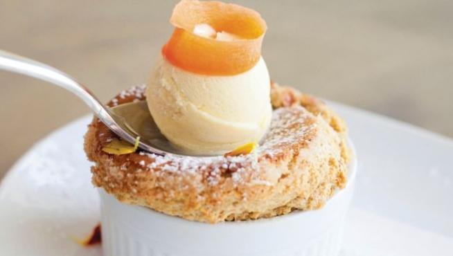 Carrot Cake Souffle