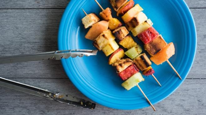 dessert kebabs