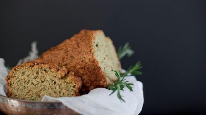 Rosemary Zucchini Supper Bread