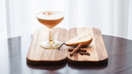 Pear Spice cocktail recipe
