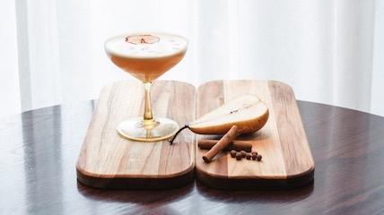 Pear Spice cocktail recipe