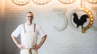 Chef Josh Agan at Coop 303 in Atlantic Beach