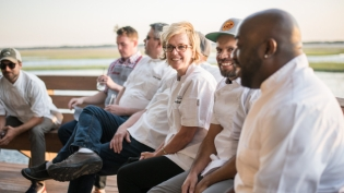 Chefs at Fish to Fork Culinary Weekend