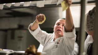 Angie Ziebarth of Balefire Brasserie in St. Augustine