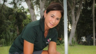 Helga Tan Fellows of Gyo Greens in Ponte Vedra Florida