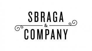 Sbraga and Company logo black and white