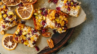 holiday magic bars vegan