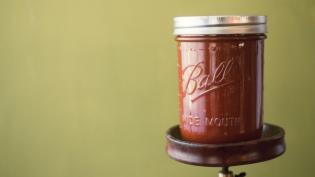 Jar of datil pepper sauce