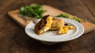 Seminole Pumpkin Risotto Cakes