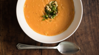 Sweet potato soup recipe from Northeast Florida
