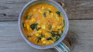 Coconut Curry Corn Chowder