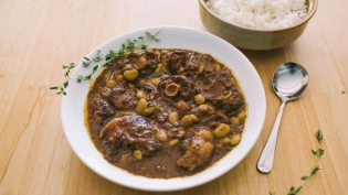oxtail stew with rice recipe