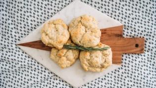 Parmesan and Prosciutto Scones