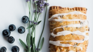 Lavendar Blueberry Pop Tart