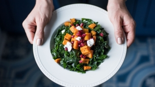 Greens, Grains and Squash Bowl