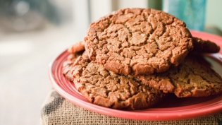 peanut butter spice cookies from knead bakeshop in jacksonville murray hill