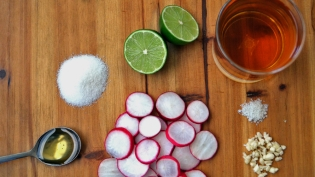 pickled radish ingredients