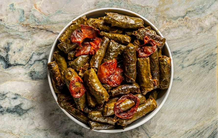 Stuffed Grape Leaves Edible Northeast Florida